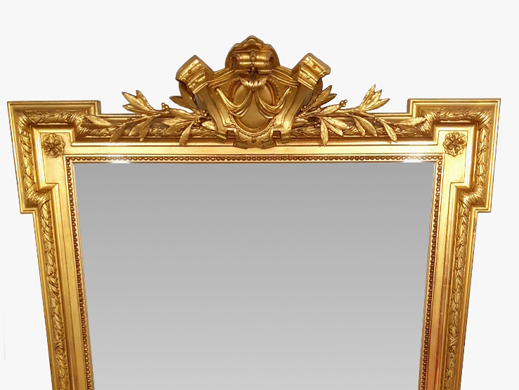 Lovely 19th Century Gilt Hall/Pier Mirror