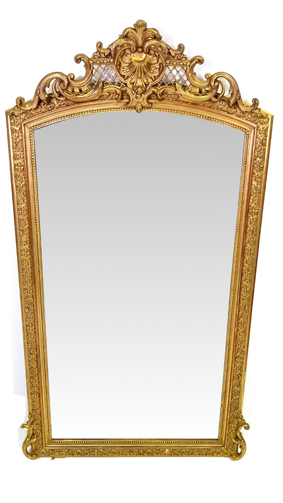 Good Quality 19th Century Gilt Mirror