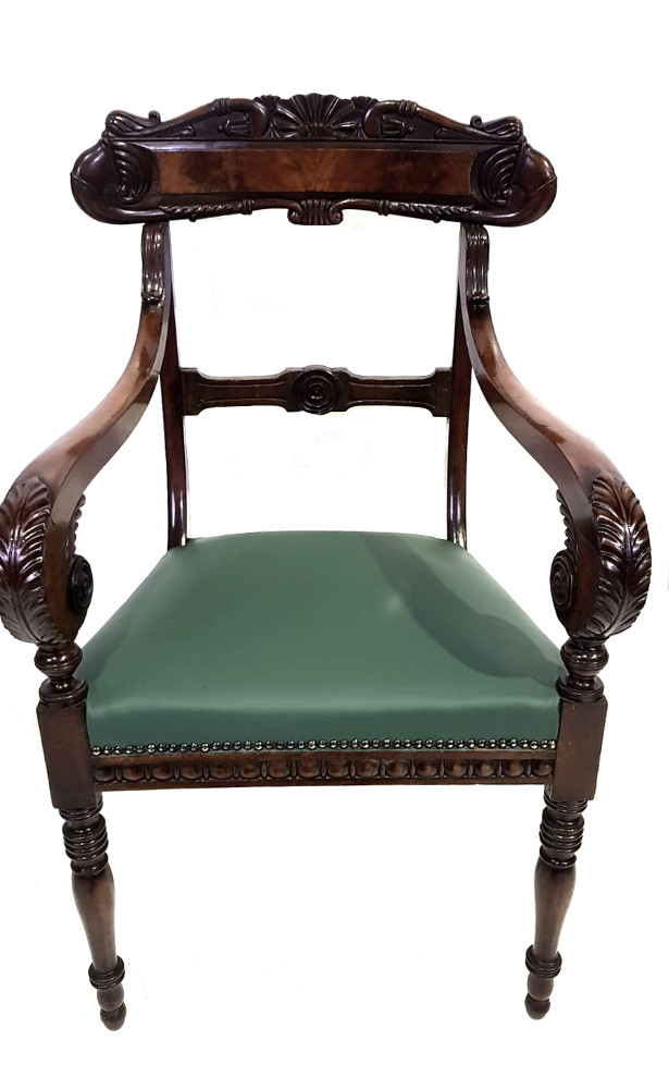 Top Quality Pair of William IV Chairs