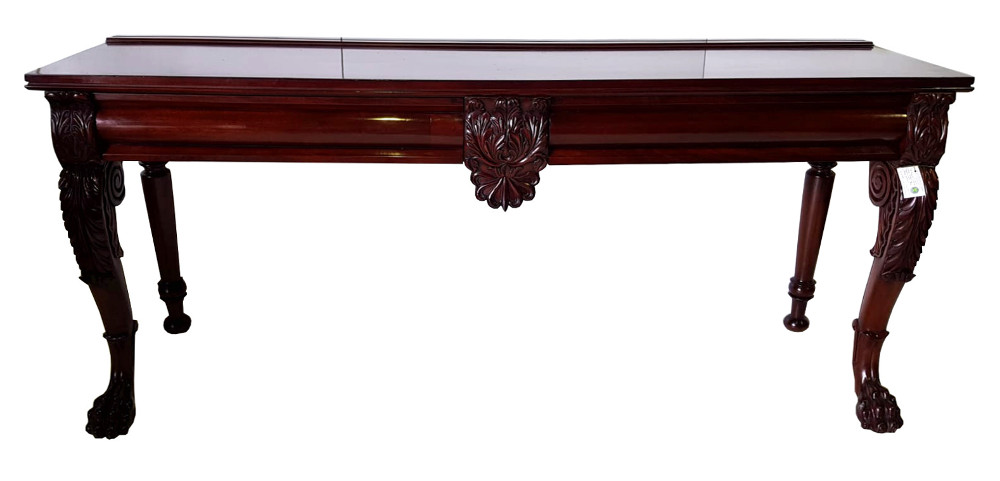 Top Quality 19th Century Mahogany Console Table