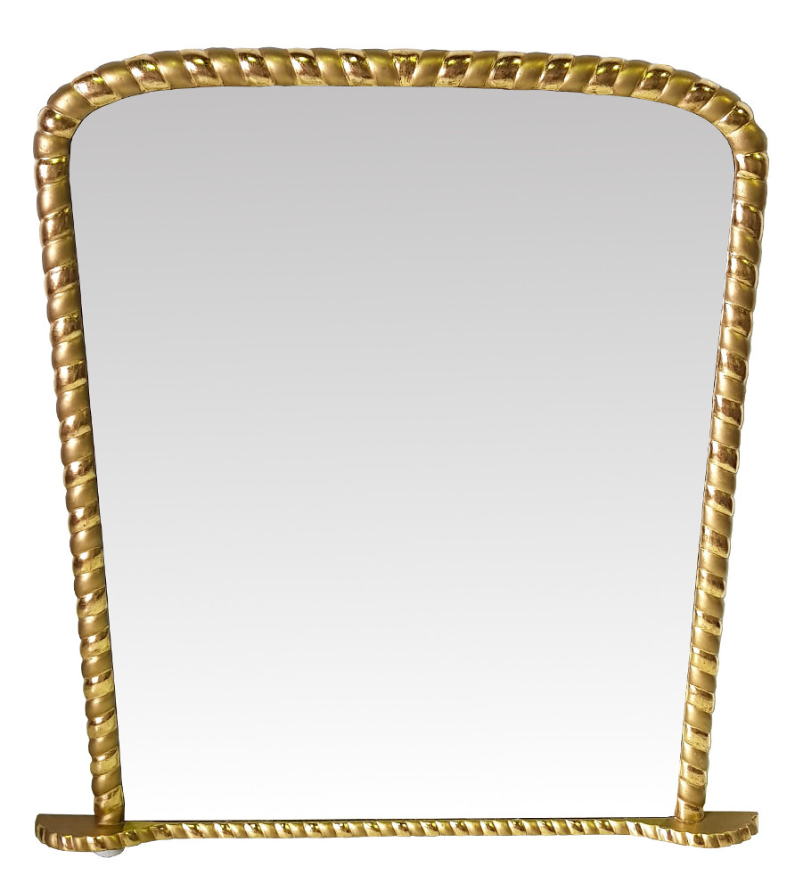 Good Quality 19th Century Gilt Overmantle Mirror
