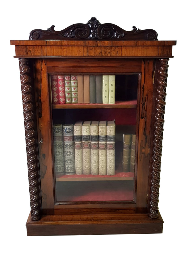 19th Century Neat Size Bookcase