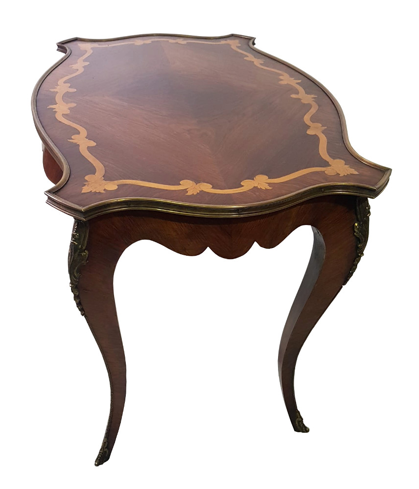 19th Century Inlaid Coffee Table