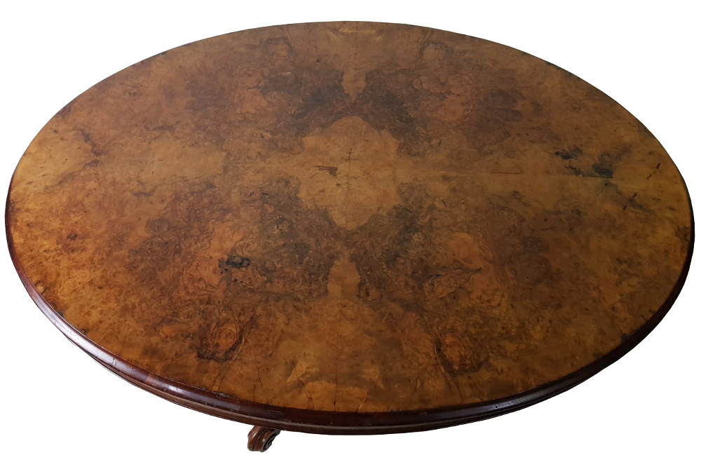 19th Century Oval Centre Table