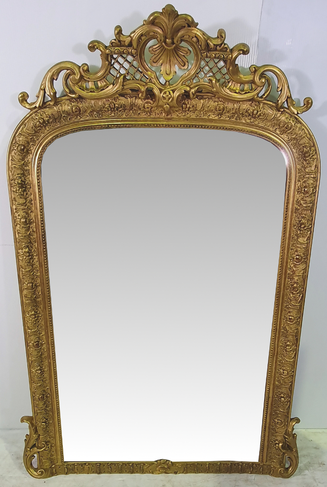 Top Quality 19th Century Gilt Mirror
