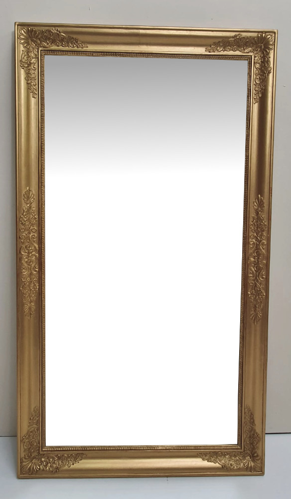 19th Century Gilt Framed Rectangular Mirror