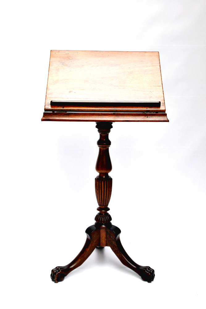 19th Century Victorian Rosewood Artist/Reading Table
