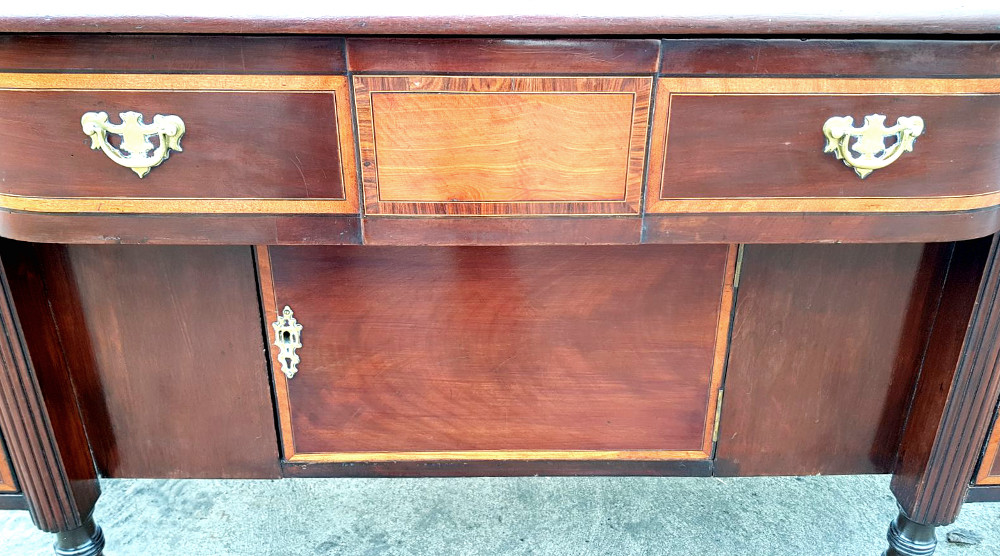 Top Quality Edwardian Inlaid Mahogany Sideboard