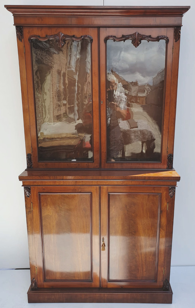 19th Century Mahogany Bookcase