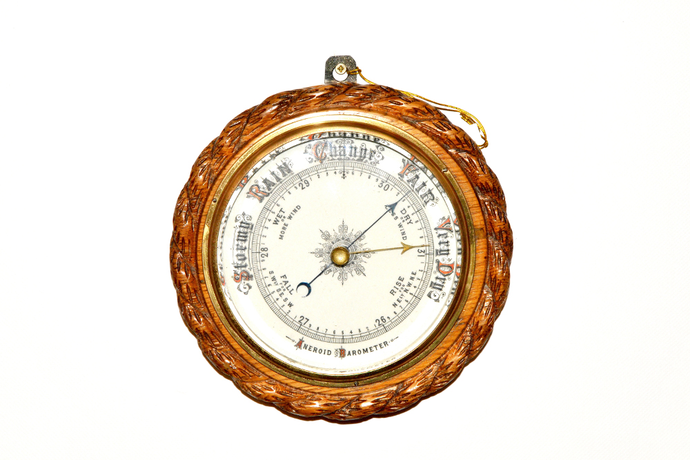19th Century Victorian Neat Size Barometer